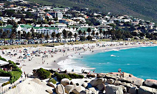 Camps Bay and Clifton Beaches